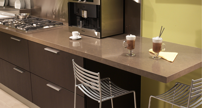 Countertops With Eased Edge