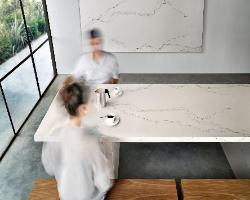 Caesarstone Calacatta Nuvo Quartz Countertops