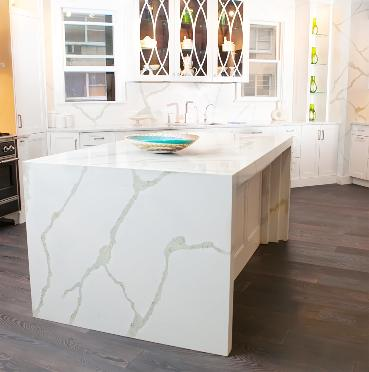 Quartz And Recycled Glass Countertops